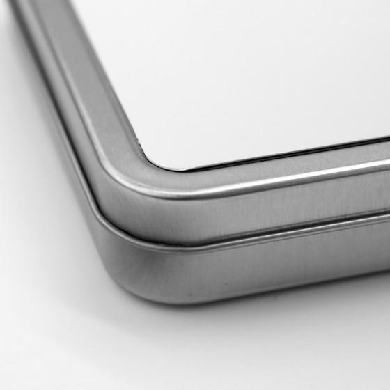 Aluminum box 17x11 cm.