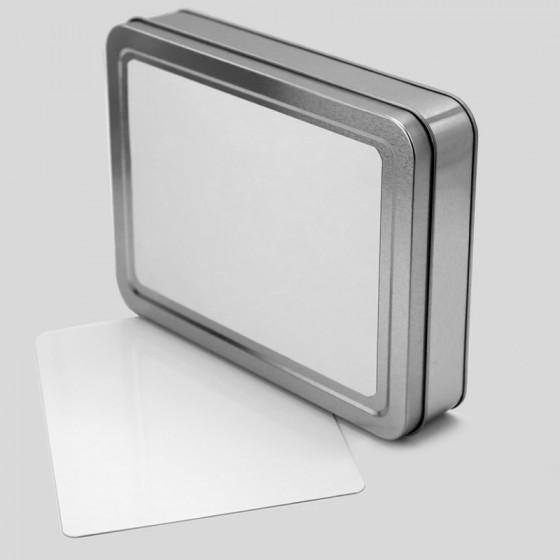 Aluminum box 21x16 cm.