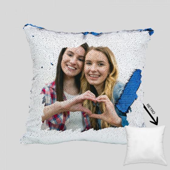 Pillowcase Sequins 40X40 cm.