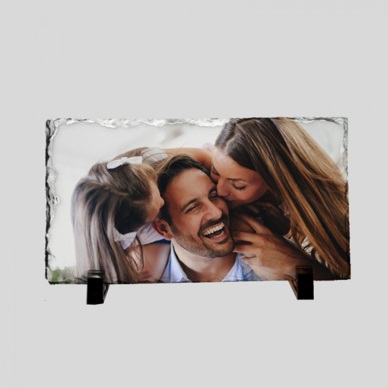 Frame 23,5x13,5 cm. Slate...