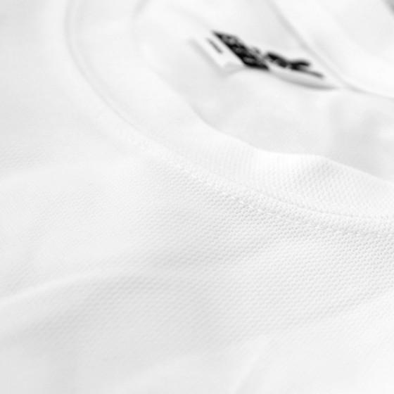 T-shirt Tecnica Unisex Bianca poliestere 100%