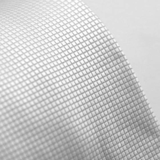 White Polyester Tie 100%