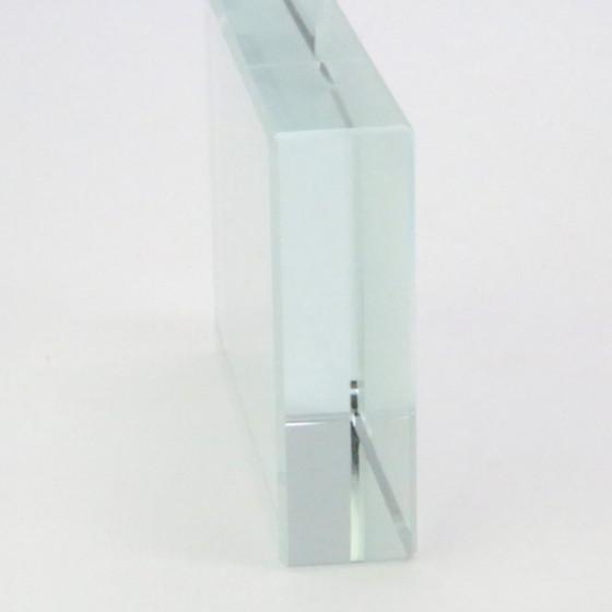 Rectangular Crystal 8x6 cm. sublimation