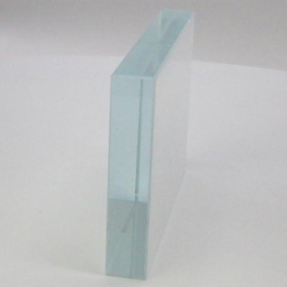 Rectangular Crystal 13x9 cm.