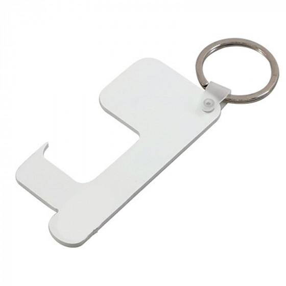 PVC protection keychain