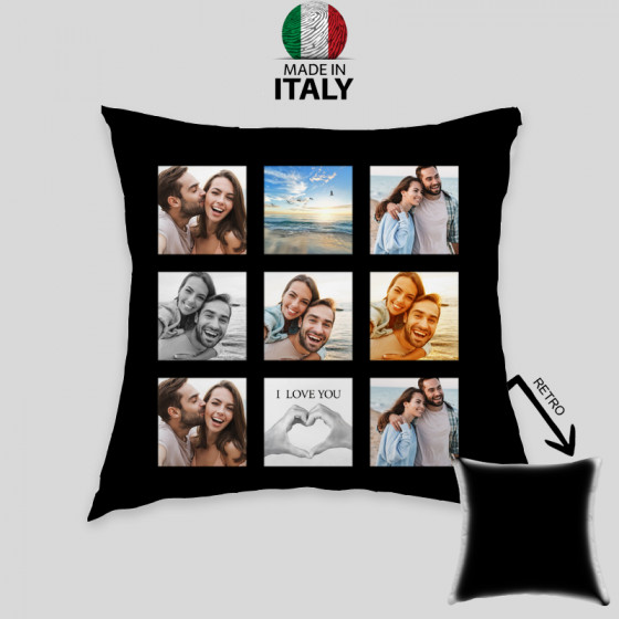 100% Polyester Collage Pillowcases