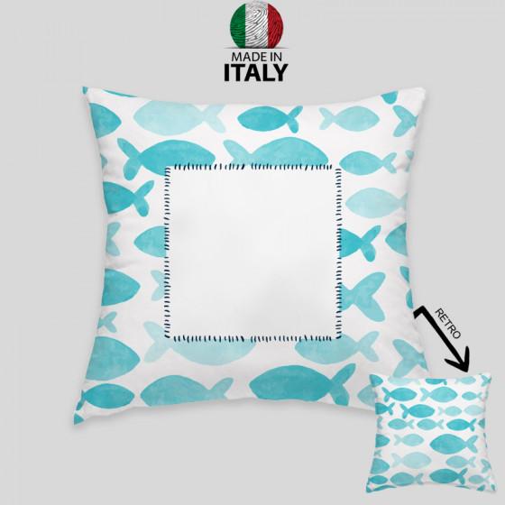 MARINE CUSHION pillowcase 40x40 cm. FULL OVER