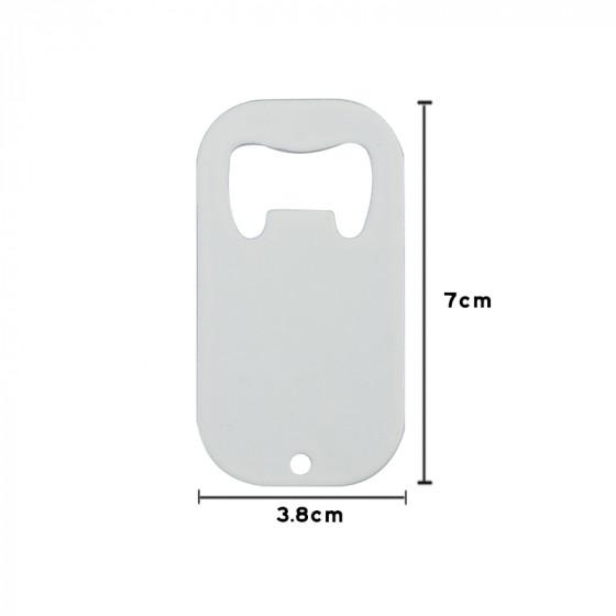 Bottle opener 4x7 cm.