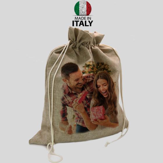 Gift Bag in Jute 50x60 cm.