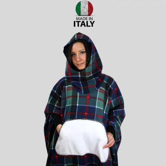 Scottish Ponchos with Sublimatic Pockets