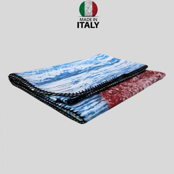 Plaid blankets in Pre-printed Pail 100x150 cm.