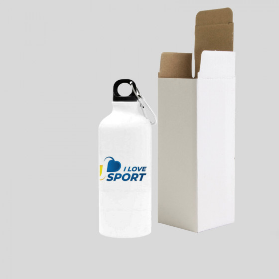 Bottle 400 ml. with carabiner
