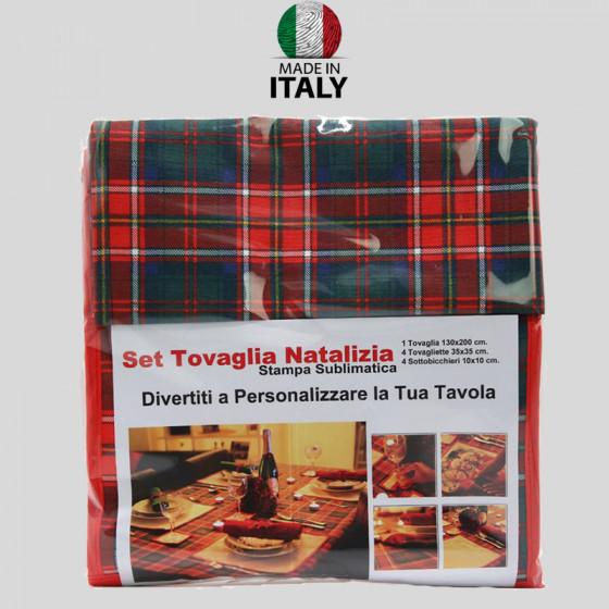 Christmas Tablecloth Set
