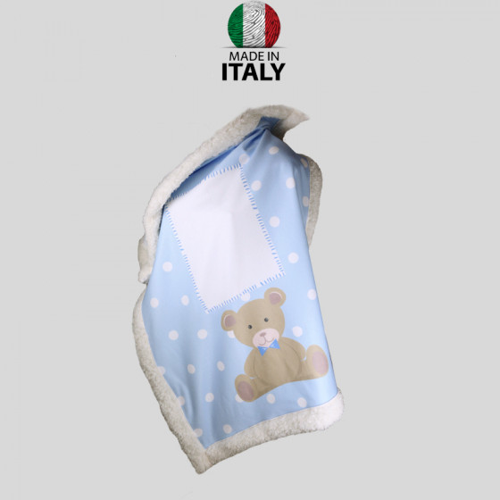 Baby Boy Blanket in...