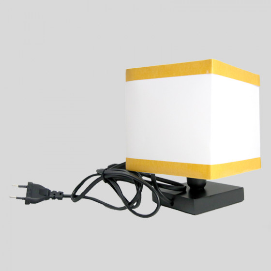 Cubotto lamp h. 18 cm. from Table
