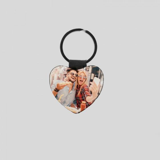 Sublimatic leather keychain