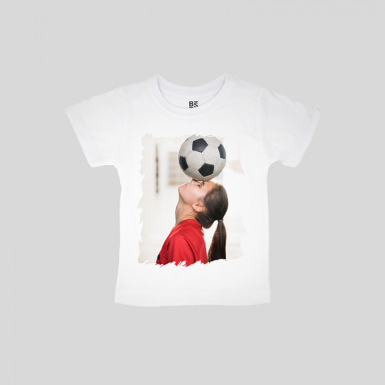 100% Polyester Child T-shirt