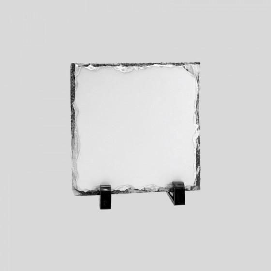 Frame 16x16 cm. Slate Stone