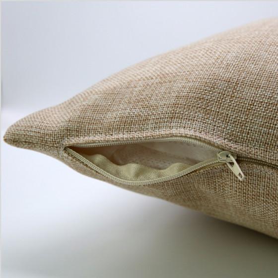 Juta polyester pillowcase 100%